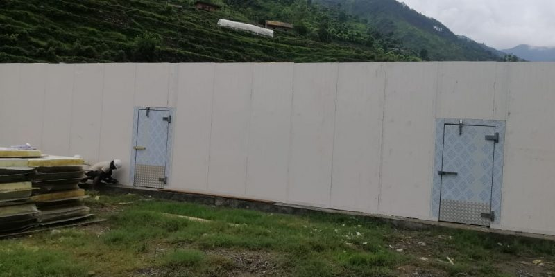 Cold Store in nepal using PUF Panel