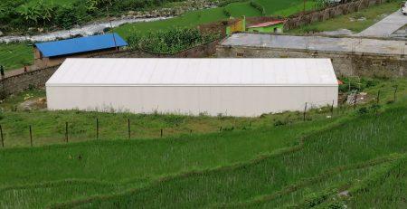 Mushroom farm made with sandwich puf panels