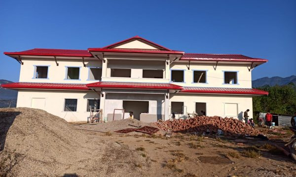rolpa police station made with sandwich puf panels