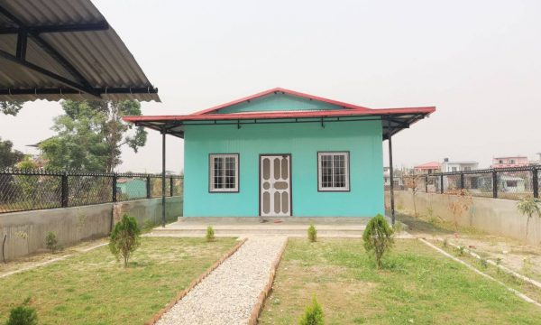 pre fabricated house in nepa;