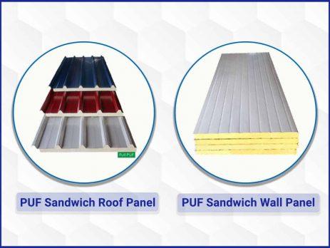 Sandwich PUF Panels