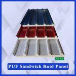 PUF Sandwich Roofing Panel